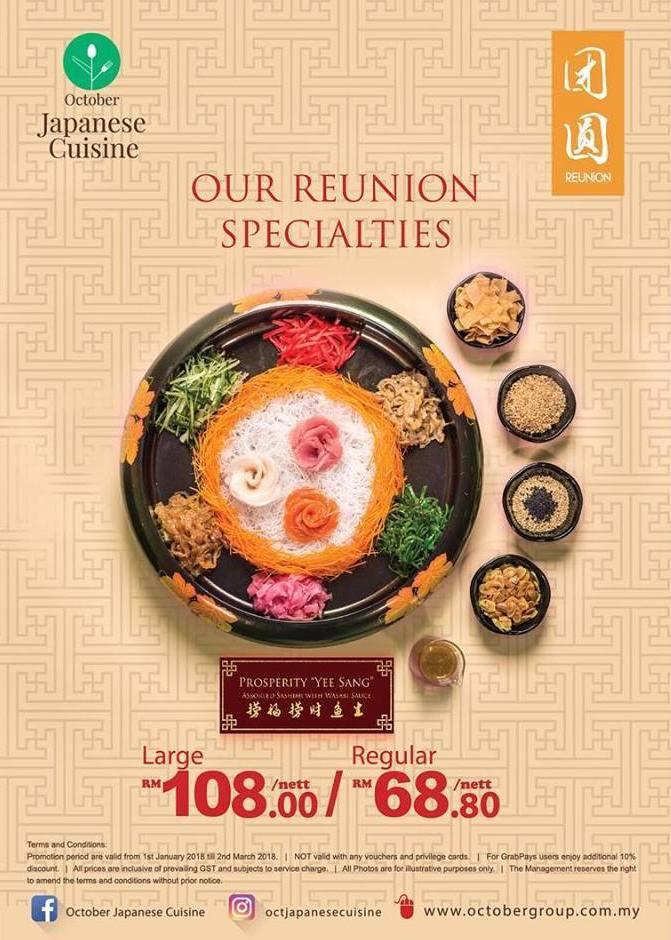CHASING FOOD DREAMS: October Japanese Cuisine @ Johor Bahru