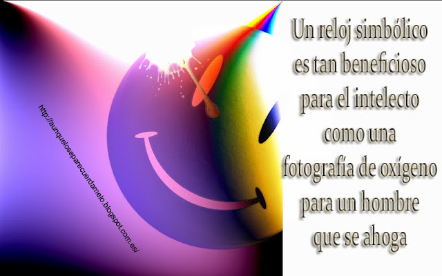 ilustracion de smiley con frase del dr manhathan again