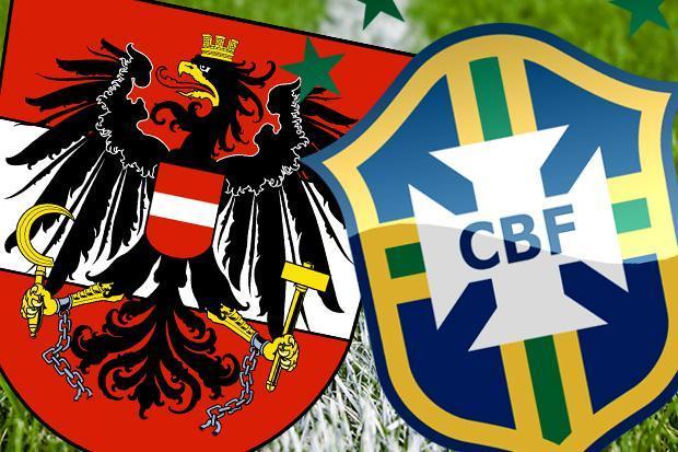 Austria vs Brazil Full Match Replay 10 June 2018