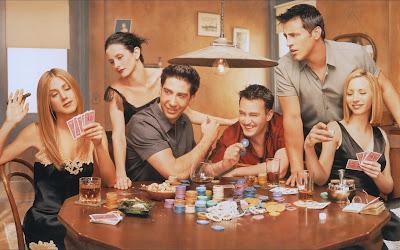Pokerabend Zuhause mit Freunden
