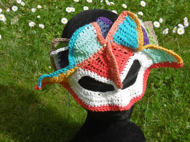 masque mandala face, malooka