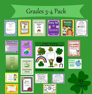 Are you feeling lucky giveaway grade 5-10 pack