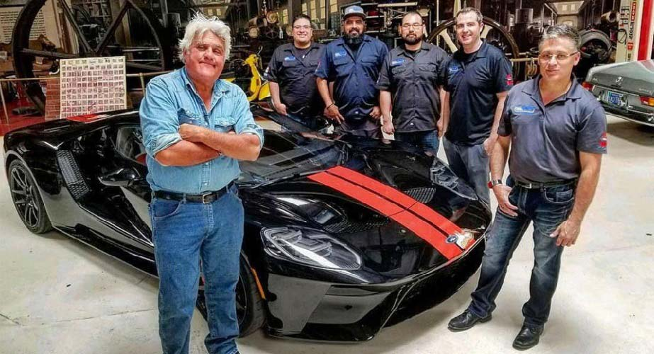 Jay Leno Shows Off His New  Ford Gt Supercar