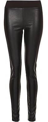 Leather look Leggings, Leggings, Black Leggings New Look, PVC leggings