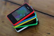Nokia Asha 501 depan