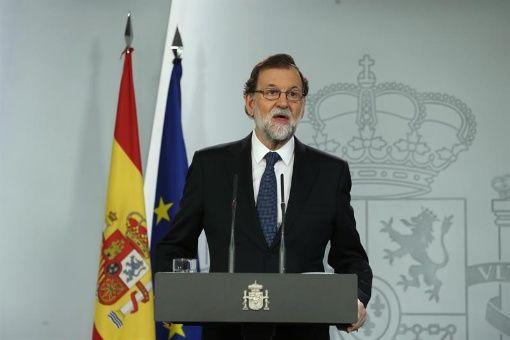 Rajoy: Hoy no ha habido un referendo, ha sido una mera escenificación