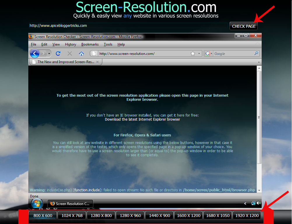 Test Website On Different Screen Resolutions | AllTechInOne