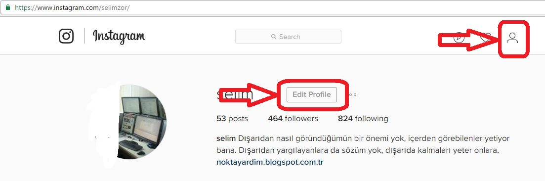 Social media help how to close instagram account visit instagram and log into your account as above click on your username in the top right corner of the page click the edit profile button next to ccuart Choice Image