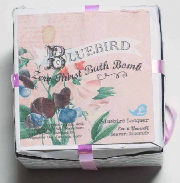 Bluebird Lacquer Zero Thirst Bath Bomb