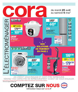 Catalogue Cora 25 Avril au 06 Mai 2017