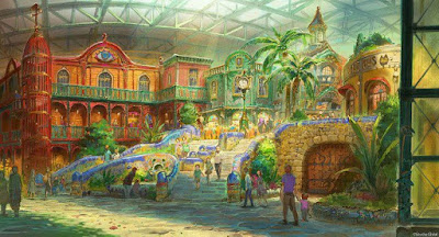 Studio Ghibli Unveils Its Theme Park Designs