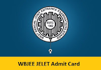 WBJEE JELET Admit Card