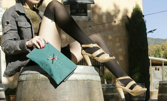 Bolso  azul vintage de Sise Spaxuleto