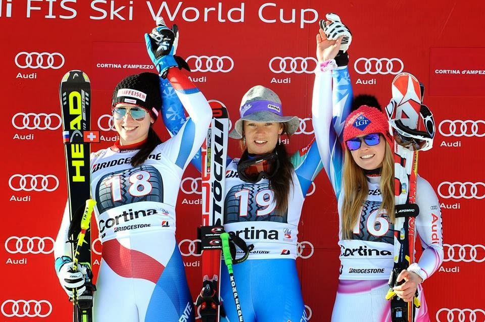 Ski Paradise Tina Maze Takes Victory In Second Cortina