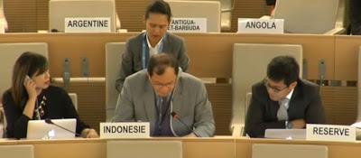 Pernyataan Emosional Indonesia di PBB, Menanggapi Pernyataan Kepulauan Solomon dan Vanuatu Atas pelanggaran HAM di Papua