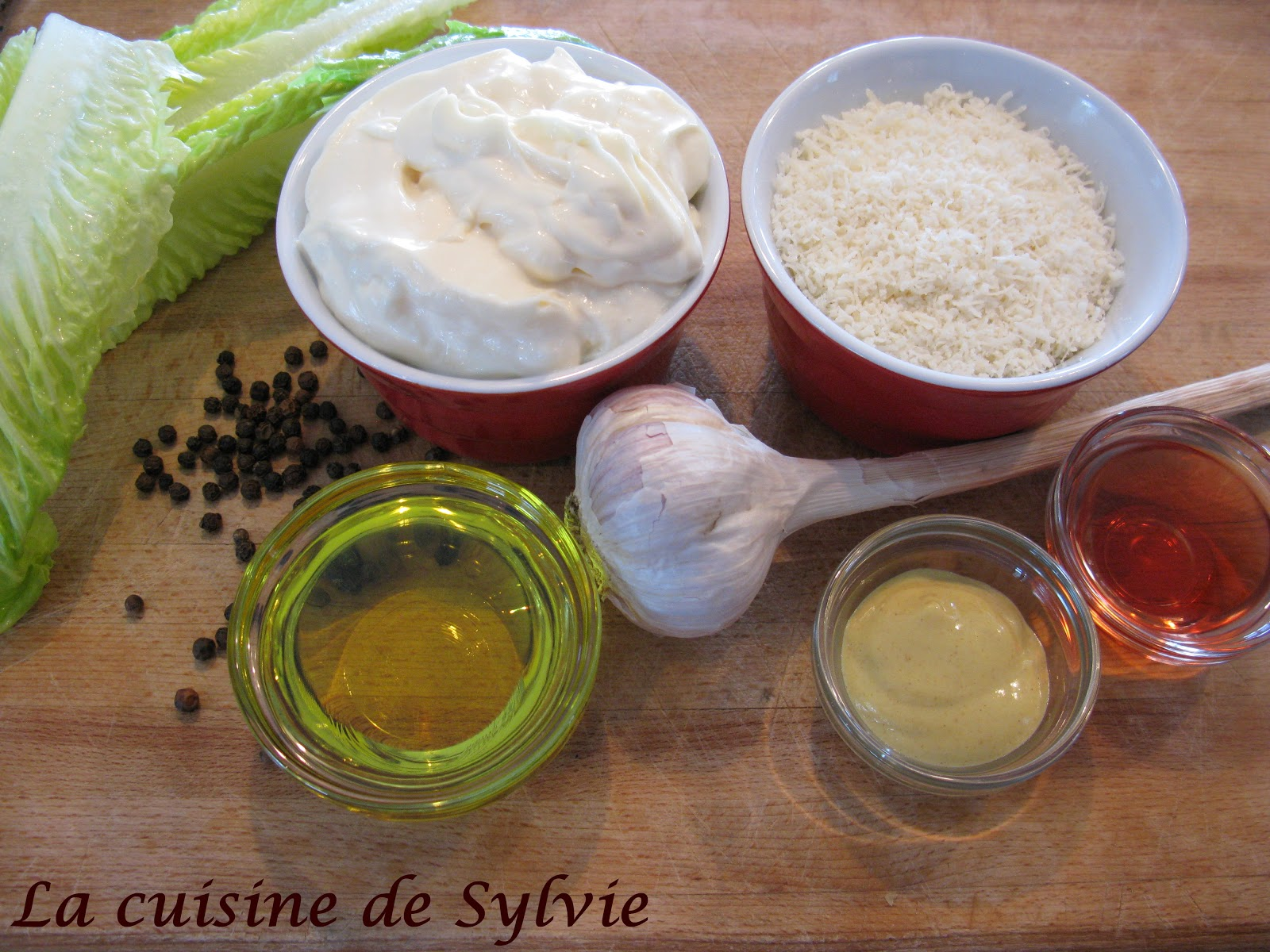 la cuisine de sylvie sauce pour salade c sar. Black Bedroom Furniture Sets. Home Design Ideas