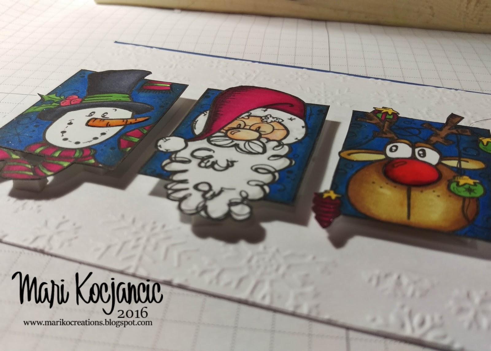 christmas trio blocks digi stamp  bugaboo stamps - bugaboo stamps