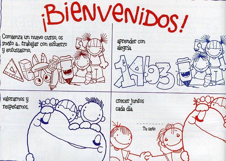 Maestra Asunción: MENSAJES DE BIENVENIDA AL NUEVO AÑO ESCOLAR.