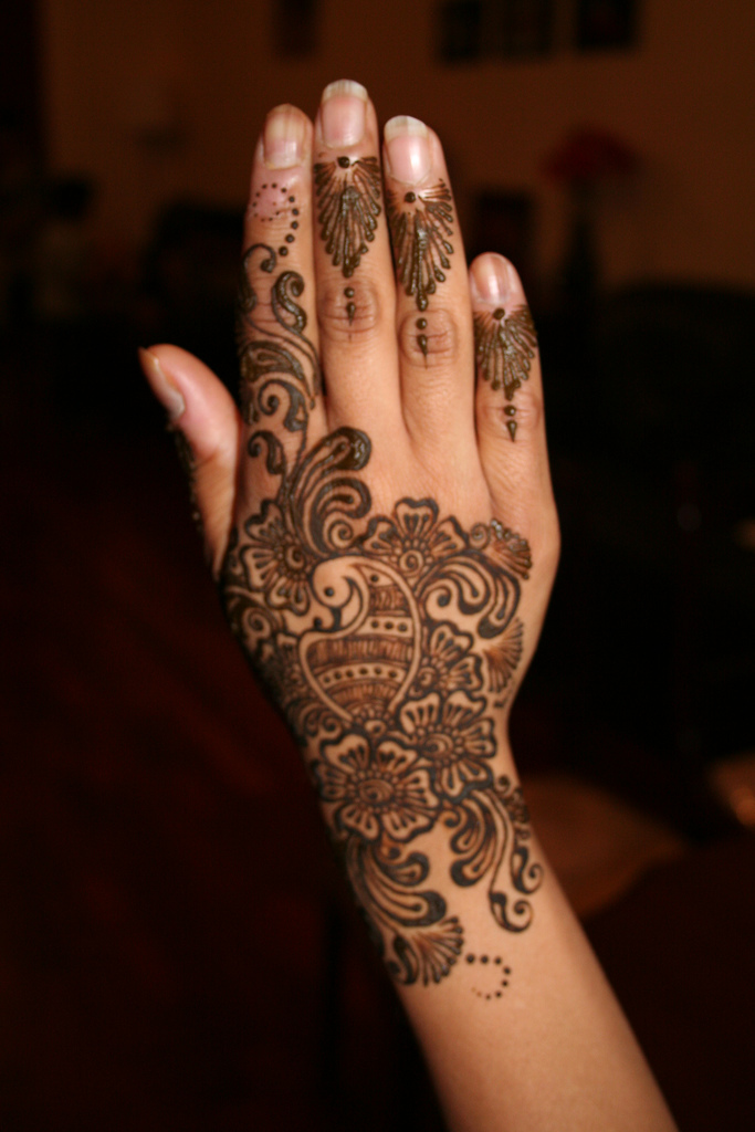 Mehndi For Beginners: Mehndi Designs: Arabic Mehndi Designs For Hands For Beginners