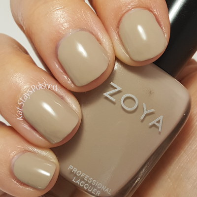 Zoya Urban Grunge Once Coat Creams - Noah | Kat Stays Polished