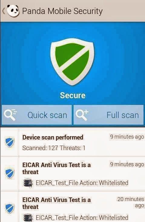 panda antivirus gratis android