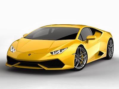 Lamborghini Huracan LP610-4 Spyder yellow pose