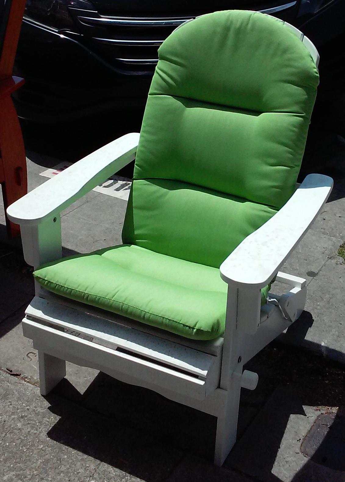 Uhuru Furniture Collectibles Sold 313 Adirondack Style Patio Chair 85
