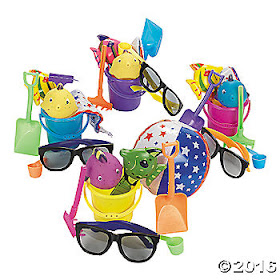 beach theme party favors