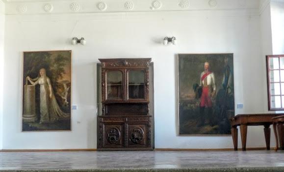 Вишневецкий дворец. Картинная галерея