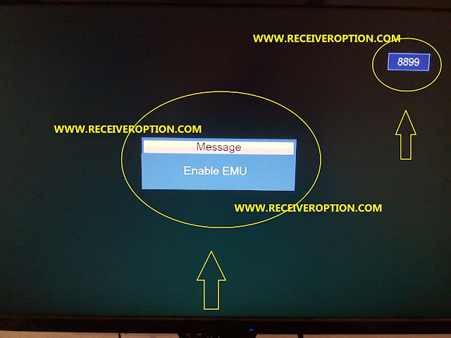 TIGER F8 HD RECEIVER BISS KEY OPTION