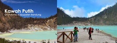 kawah putih, salah satu tempat wisata alam di bandung