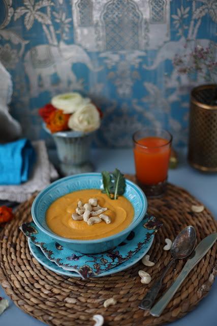 porkkana-bataattisosekeitto