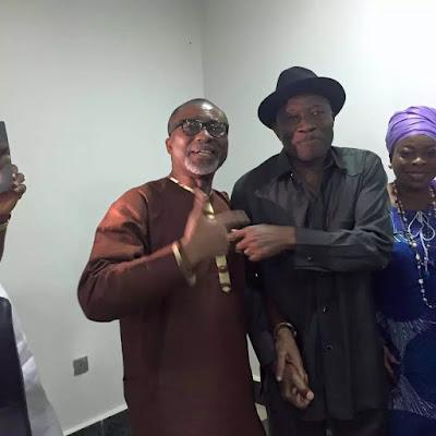 Senators visits former president