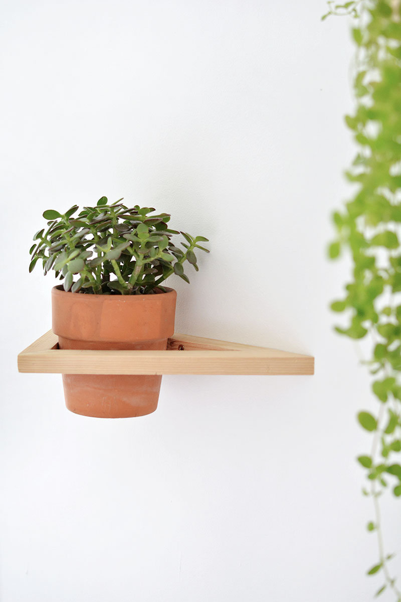 geo wall planter tutorial