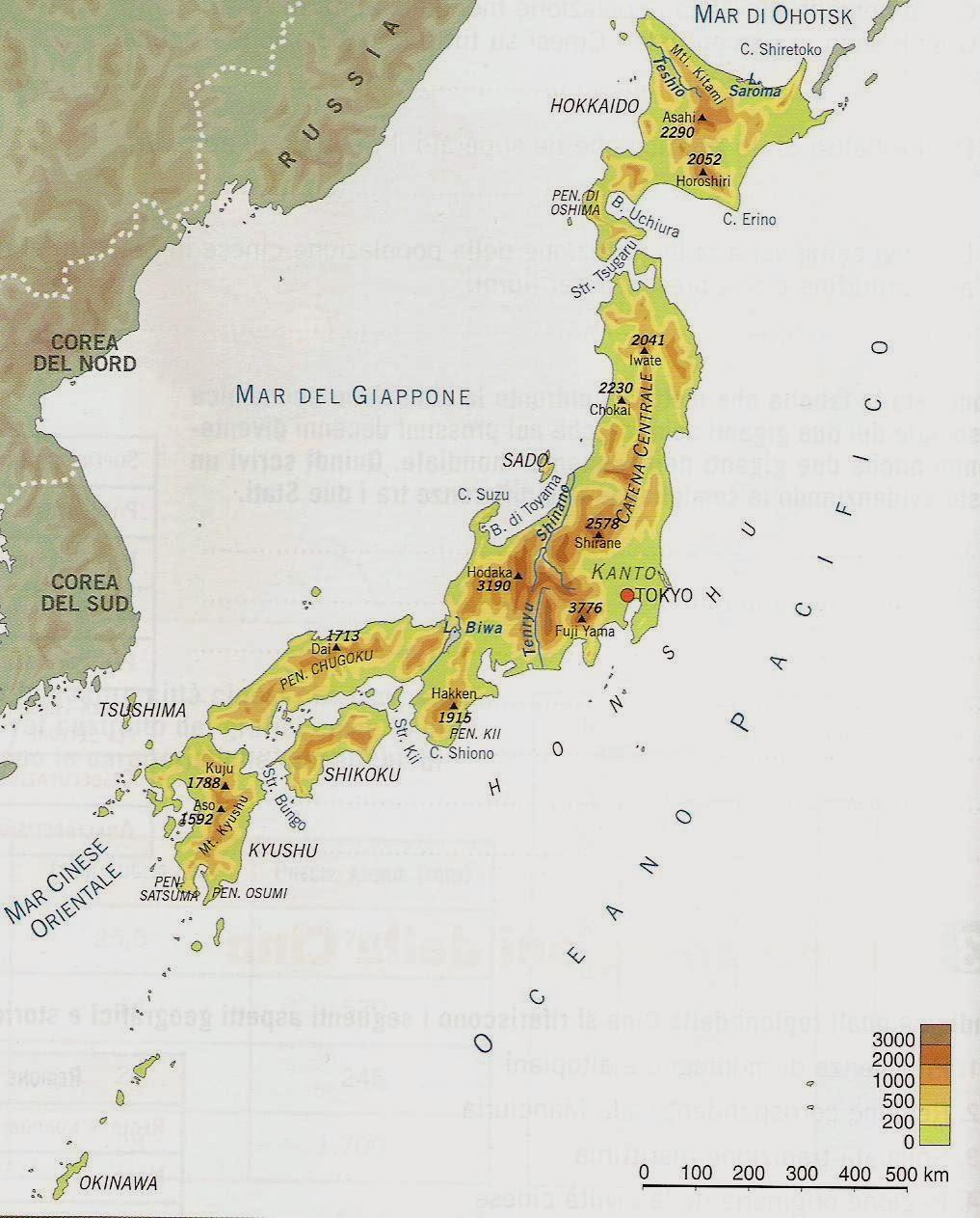 Cartina Muta Del Giappone.Cartina Giappone Da Stampare Stampae Colorare