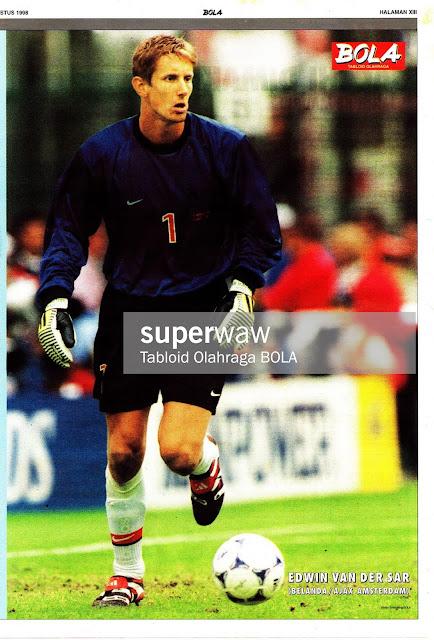 EDWIN VAN DER SAR NETHERLAND HOLLAND 1998