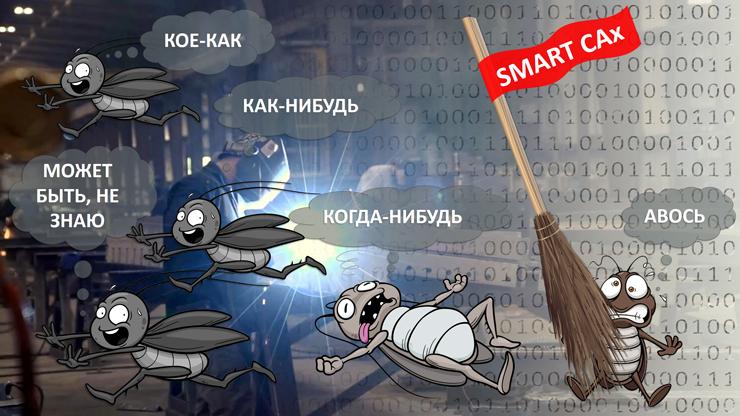 SMART-подход к CAx-автоматизации производства