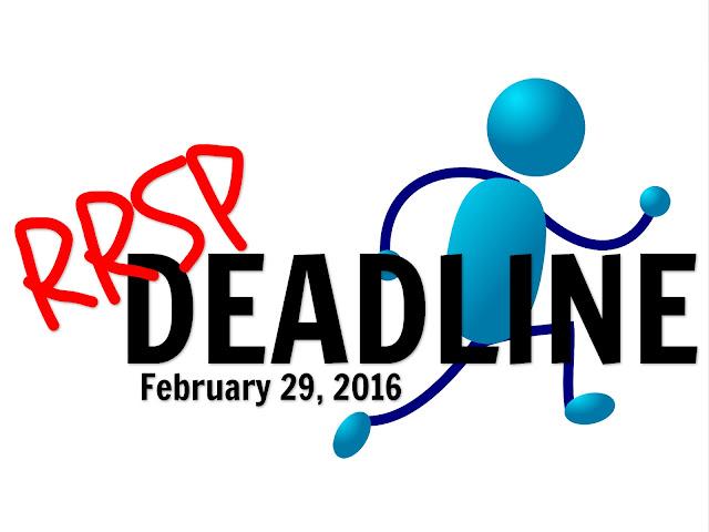RRSP Deadline