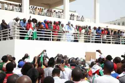Senate president responds to TUC/NLC protesters