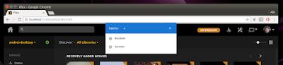 Plex Chrome Chromecast stream
