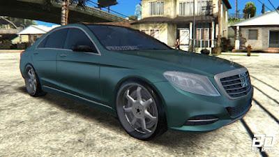 Download , mod, carro, Mercedes-Benz S63 W222 Bulkin Amoral, GTA San Andreas, GTA SA