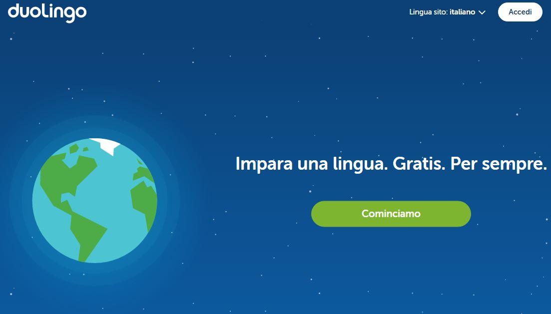 duolingo programma per imparare l inglese gratis