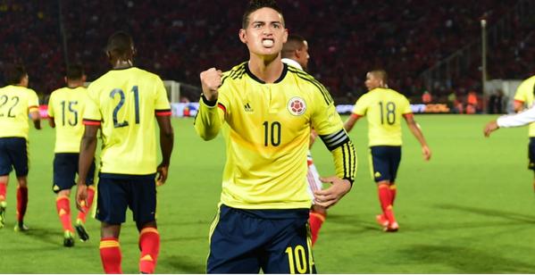 James Rodríguez jugará Copa América
