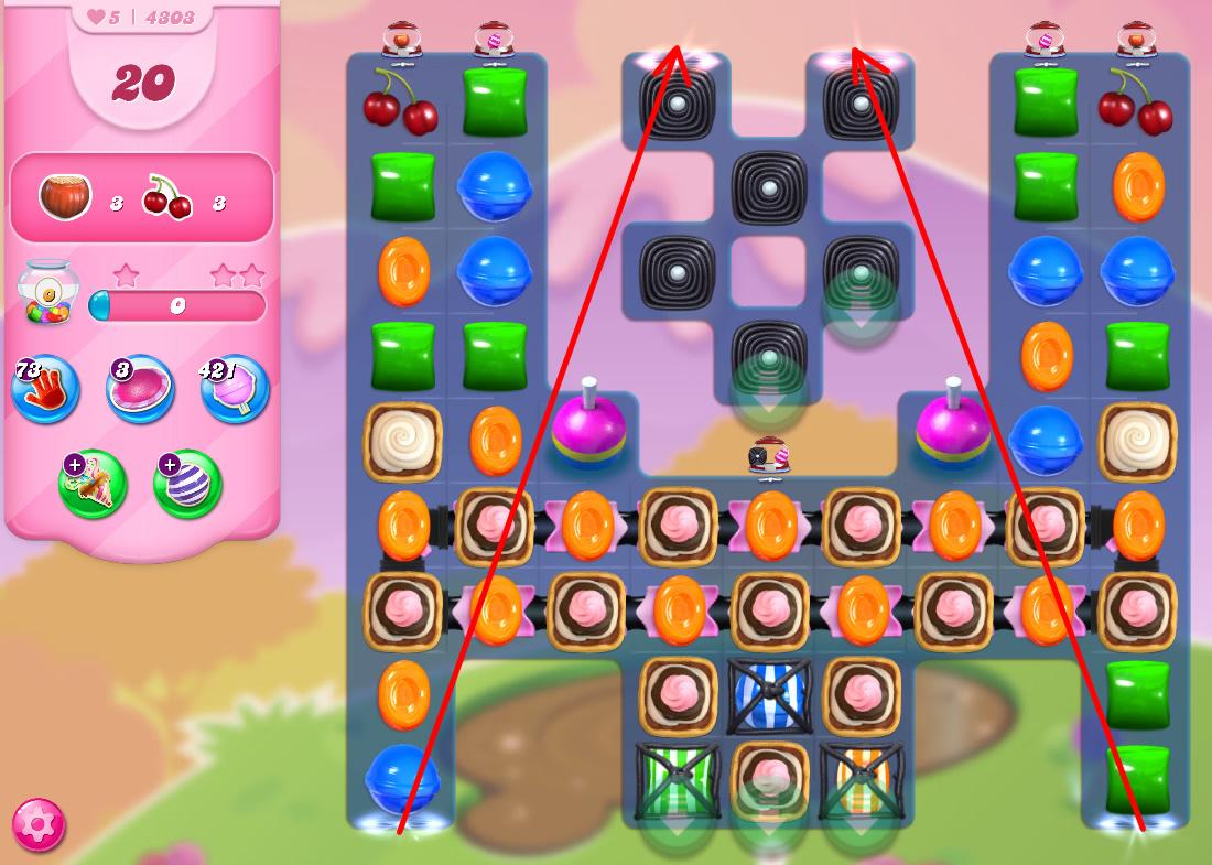 Candy Crush Saga level 4303
