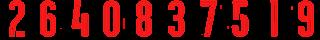 4 2Bred Kit Numbers Puma 2017