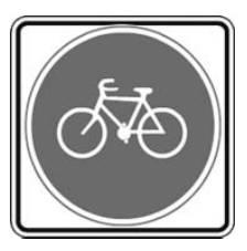 이 길은 자전거만 다닐 수 있는 길입니다