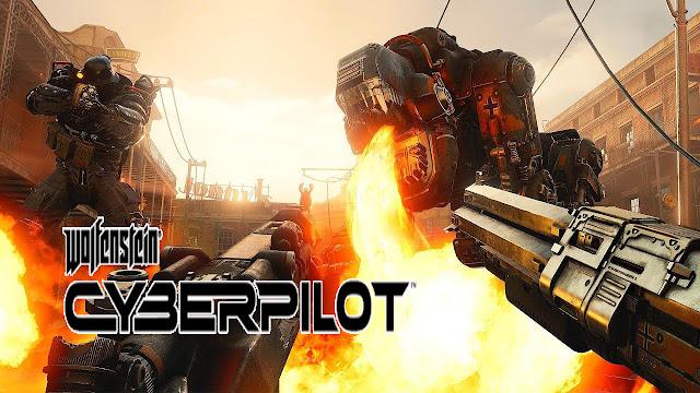 """""""Wolfenstein: Cyberpilot"""" Game phiêu lưu bắn súng thực tế ảo 2019"""