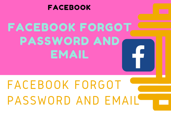 I forgot My Facebook Email and Password 2019