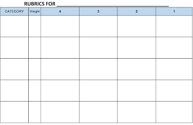blank rubric - Apmayssconstruction