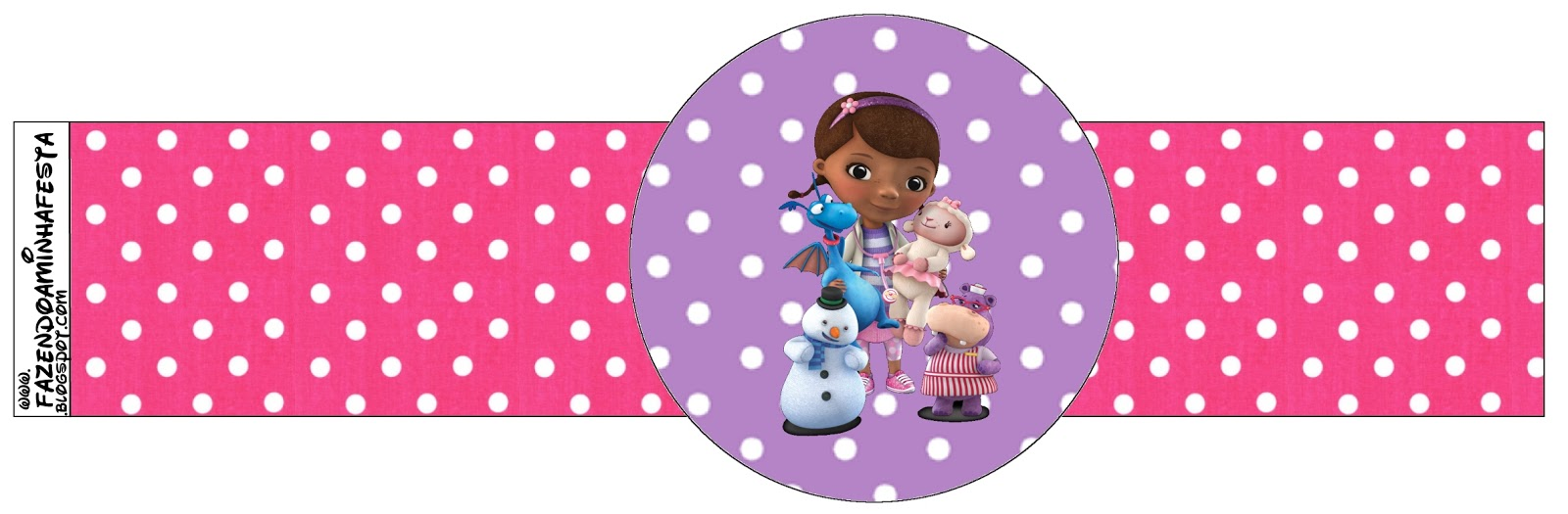 Doc Mcstuffins Free Party Printables Oh My Fiesta In English